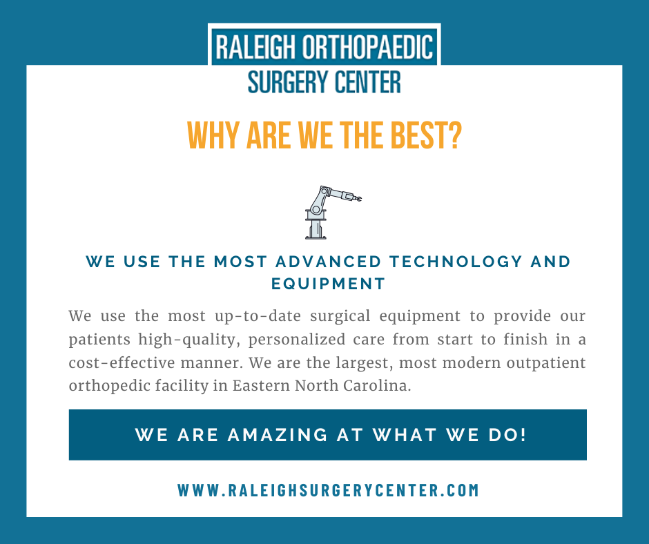 orthopedic surgery center in raleigh